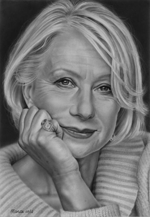 Helen Mirren by manda